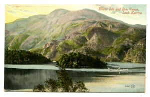 UK - Scotland, Loch Katrine & Ellen's Isle & Ben Venue