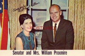 1964 SENATOR AND MRS. WILLIAM PROXMIRE - Ellen and I ...appreciate your support