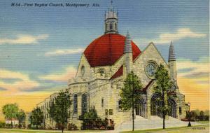 AL - Montgomery. First Baptist Church