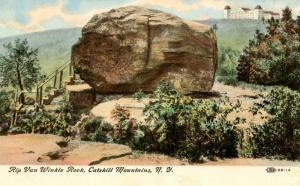 NY - Catskills. Rip Van Winkle Rock