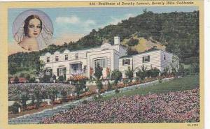 California Beverly Hills Residence Of Dorthy Lamour