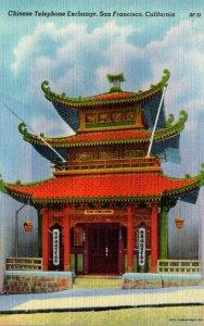California San Francisco Chinese Telephone Exchange