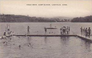 Connecticut Lakeville Camp Slone Girls Swim Artvue