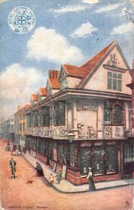 England Ipswich Ancient House 1913