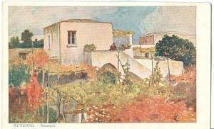 Italy, Autunno, Anacapri, Capri, early 1900s used Postcard