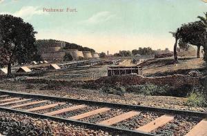 Pakistan Peshawar Fort, Bala Hissar, Railway
