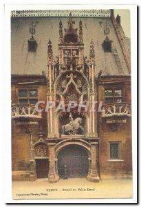 Nancy Old Postcard Ducal Palace Portal
