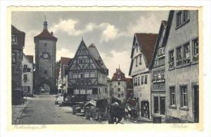 Rothenburg ob der Tauber , Germany , 1910s   Plonlein
