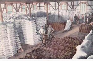 California Stockton Interior Of Flour Mill