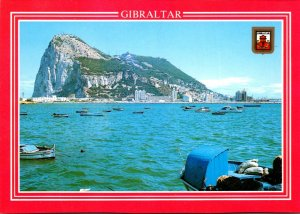 Gibraltar General View Of The Rock Of Gibraltar