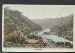 Herefordshire Postcard - View of Symonds Yat   T9135