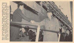 Major General Homer M. Groninger San Francisco WWII Veterans Vintage Postcard