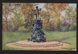 UK - Peter Pan Statue Kensington Gardens - Used