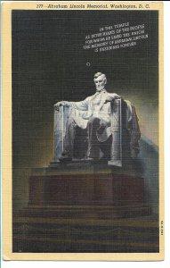 Washington, DC - Abraham Lincoln Memorial