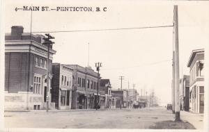 RP: Main Street , PENTICTON , B.C. , Canada , 1900-10s