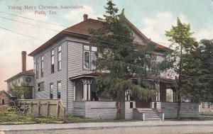 PARIS, Texas, PU-1908; Young Men's Christian Association