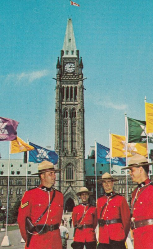 Canadian Mounties , 50-60s
