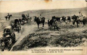 CPA AK MAROC CASABLANCA - Spahis indigenes conduisant leurs chevaux (219492)