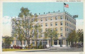 SHERMAN , Texas , 1930-40s ; Grayson Hotel
