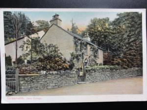 Cumbria: Grasmere, Dove Cottage c1906 - Pub by Peacock No.1684