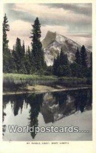 Mt Rundle Banff, Alberta Canada Unused