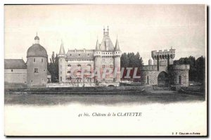 Chateau de la Clayette - Old Postcard