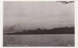 RP, Sunset, Stamboul, Turkey, 1920-1940s