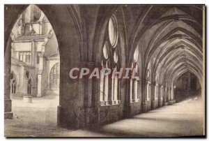 Old Postcard Toul Cloitre de la Cathedrale Party giving access in the choir o...