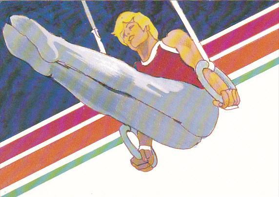 United States Summer Olympics Colorado Springs 1983 Men's Gymnastics