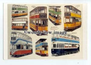 tm6038 - Glasgow Corp.Transport, Tramcars - Artist - G.S.Cooper - postcard