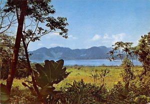 Lago de Yojoa Honduras, Central America Writing on back