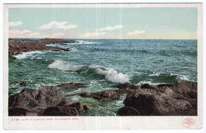 Gloucester, Mass, Surf at Eastern Point