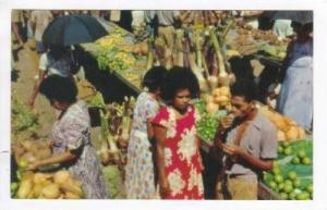 FIJI, 40-60s, Market place