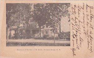 New Hampshire Hillsboro Bridge Residence Of Ex Gov J B Smith