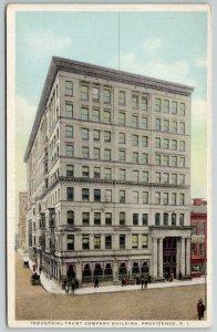 Providence Rhode Island~Detroit Publishing~Industrial Trust Company Bldg c1907