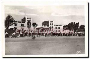 Postcard Old La Tranche Sur Mer Hotel De I'Ocean And The Beach