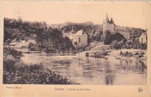 Belgium Durbuy L'Ourthe et le Chateau 1950