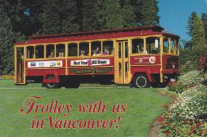 The Vancouver Trolley Company, Trolley Bus Tours, Vancouver, British Columbia...
