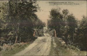 Spring Valley MN Hardscrabble Hill c1910 Postcard EXCELLENT CONDITION