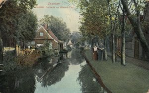 ZAANDAM , North Holland , Netherlands , 00-10s ; Canal
