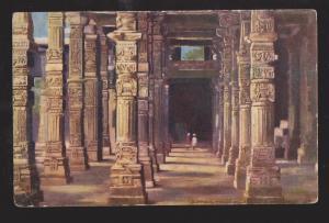 Colonnade, Hindoo Pillars, Delhi, India - Unused - Corner Wear