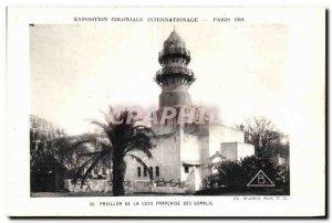 Old Postcard Exposition Coloniale Internationale Paris 1931 Pavilion of the F...