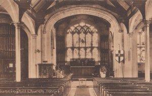SUNNINGHILL , Berkshire , England , 1912 ; Church Interior