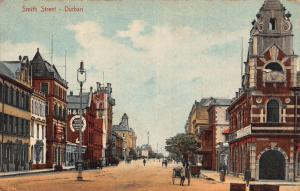 South Africa Durban Smith St. postcard