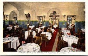 California Riverside Mission Inn Spanish Dining Room