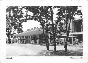Wiesbaden Rhein Main Halle Promenade