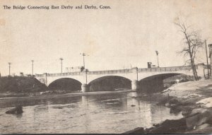 Connecticut Bridge Connecting Derby and East Derby
