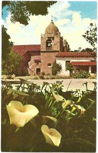 US Carmel Mission, California. Mint Card.   Beautiful.