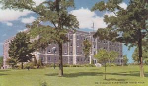 Missouri Savannah Dr Nichols' Sanitorium