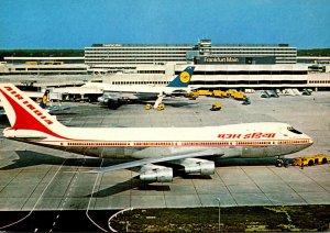 Air India Boeing 747 B At Franfurt Rhein/Main Airport